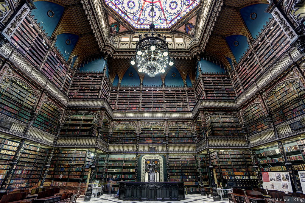 The Royal Portuguese Reading Room in Rio de Janeiro - Photographed by Michael Klug