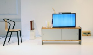 Bouroullec Brothers Designed Samsung Serif TV Launches at London Design Festival