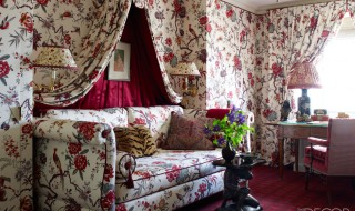 Elle Decor: Chintz Making a Comeback