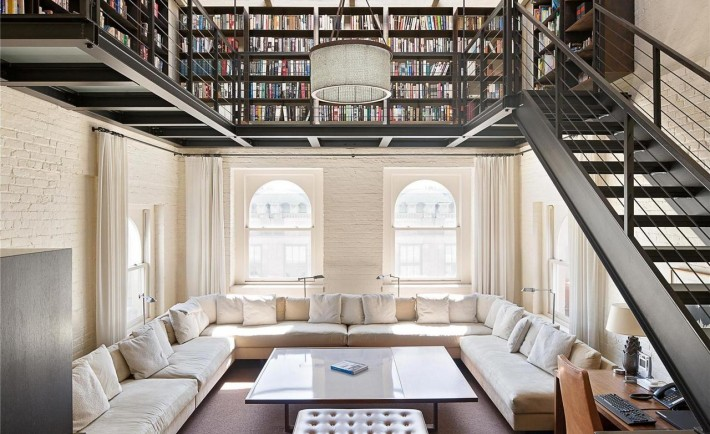 Reading Room Library In Tribeca New York