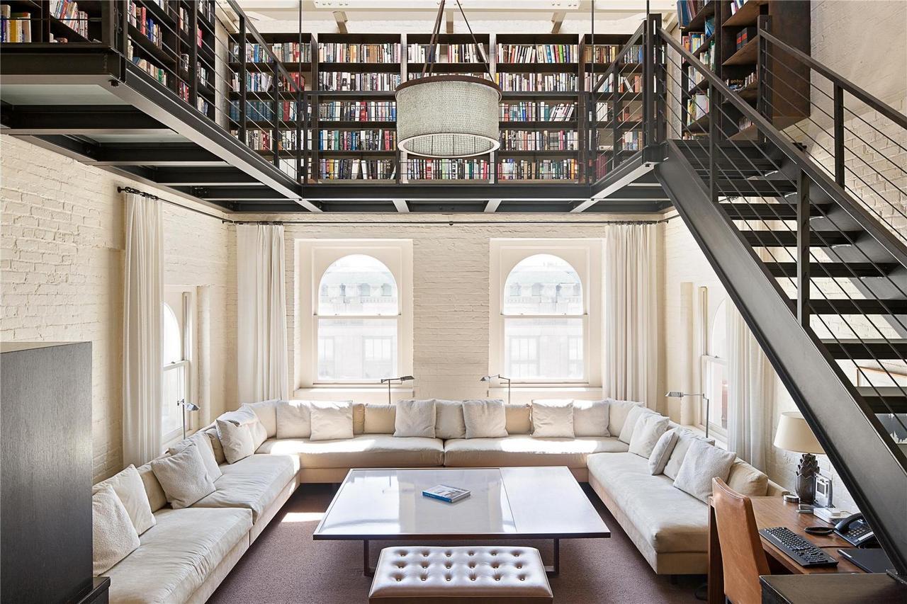 Reading Room Library In Tribeca New York Interior Desire
