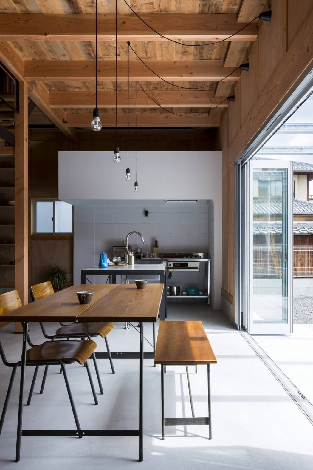 the design office. Found In Ishibe, Japan, This Residential Property Was Designed By Alts Design Office. The Office