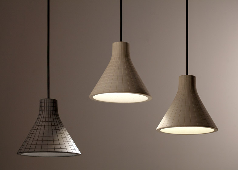 Studio Itai Bar-On Concrete Pendant Lamps