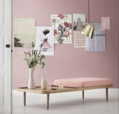 Who Will Be Transforming Our Interiors In 2016 - Scandinavian Day Bed In Pantone 2016 Colour Rose Quartz
