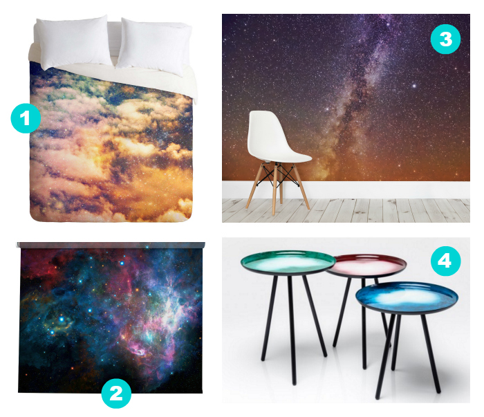 Incorporating the cosmic or galaxy trend in your home
