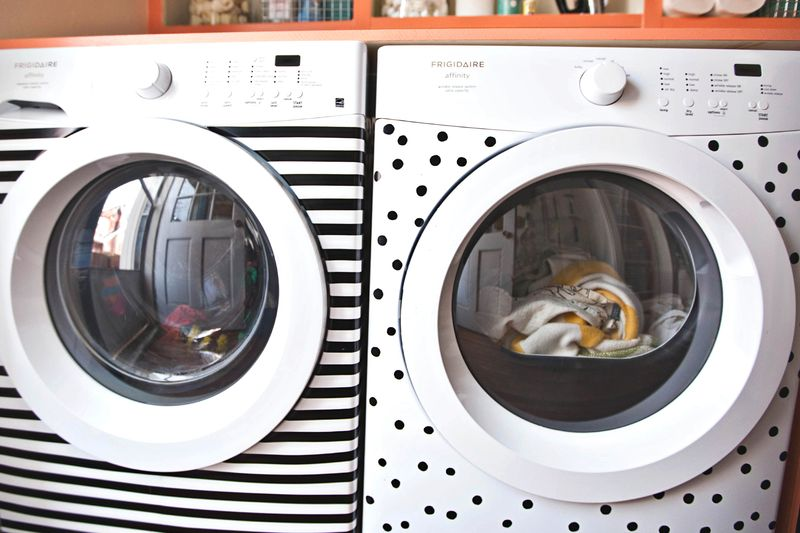 Decorate your washer and dryer