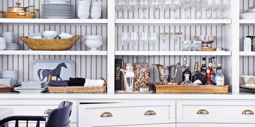 Your Dream Kitchen is Now Served - Clever Kitchen Storage Ideas: House Beautiful