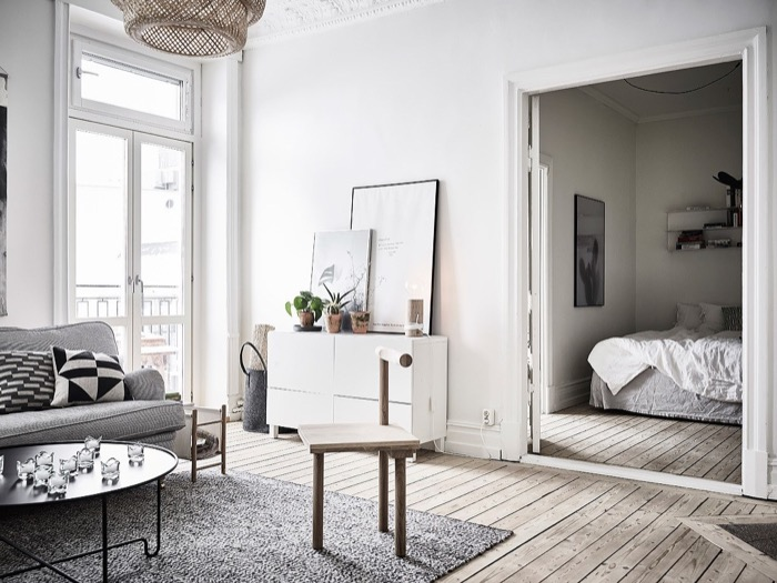 What Type Of Floor Can You Have With Underfloor Heating?Wooden Flooring - Swedish Apartment 8, Image By Anders Bergstedt