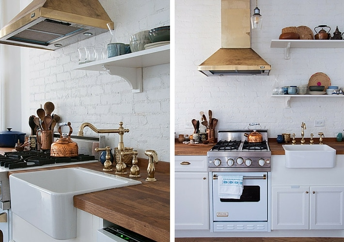 Kitchen Trends for 2016 - Brass Oven Hood. Images by by Maxwell Tielman For Design Sponge.