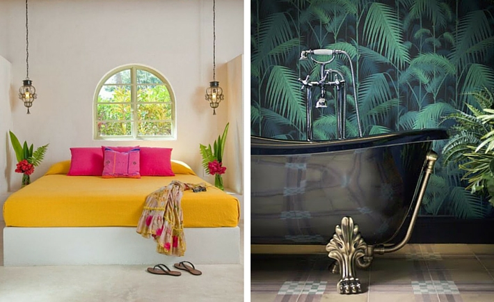 2016 Interior Trends To Be Aware Of - Tropical