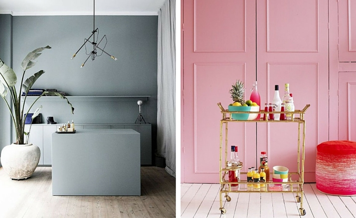 2016 Interior Trends To Be Aware Of - Pantone Rose Quartz, Grey & Tropical