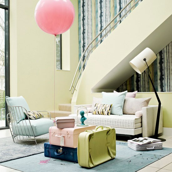 4 Easy Ways To Brighten Up Interiors - Image By Paul Massey For House To Home