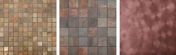3 Mesmerising Metallics For Your Home - Copper Tiles