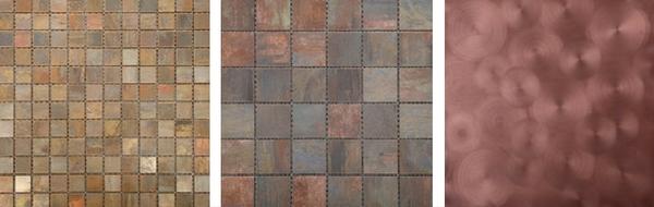 3 Mesmerising Metallics For Your Home - Copper Tiles