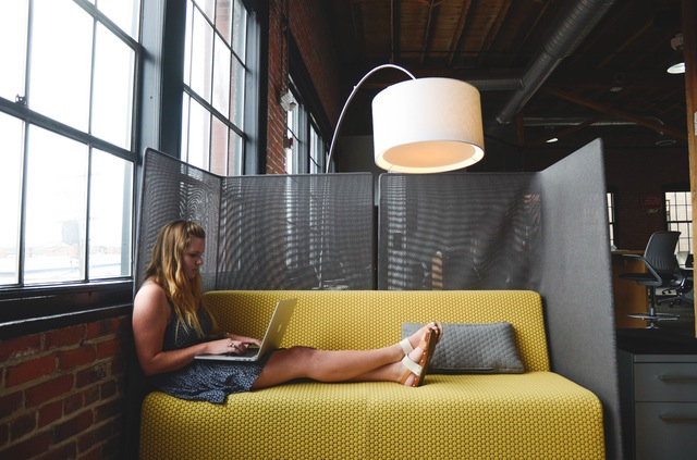 Seven Ways To Make Your Office Happier - Women Relaxing At Office