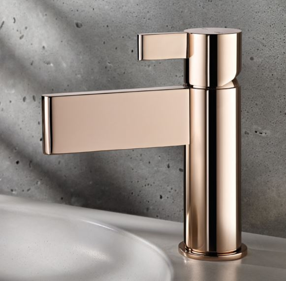 3 Mesmerising Metallics For Your Home - Rose Gold Taps - By ABL Tile & Bathroom Centre