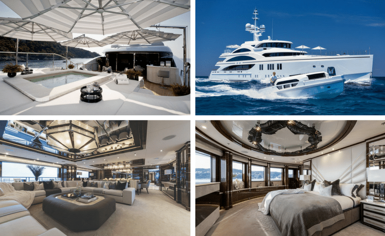 4 Modern Interior Designs On Superyachts Available For Charter - Superyacht .11.11.