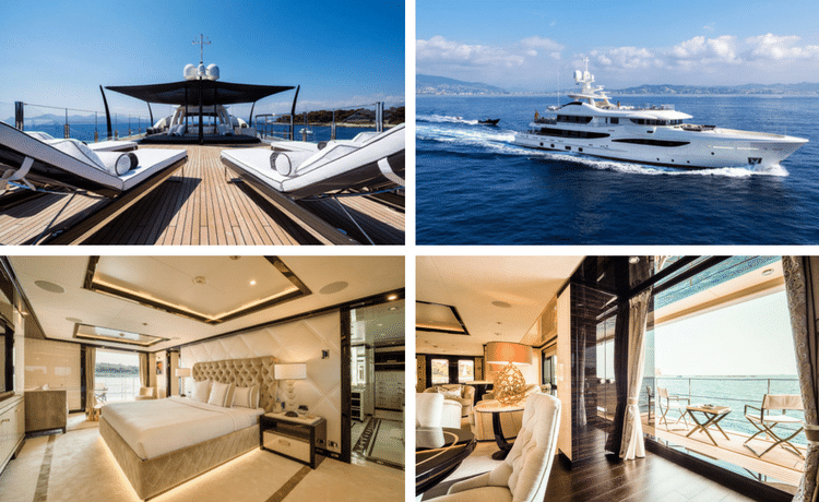 4 Modern Interior Designs On Superyachts Available For Charter - Superyacht Elixir