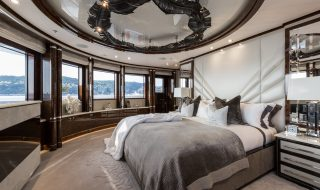 4 Modern Interior Designs On Superyachts Available For Charter - Master Suite By Jeff Brown - Superyacht .11.11.