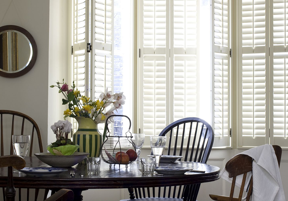 Designing A Practical And Stylish Kitchen - Full Height Window Shutters