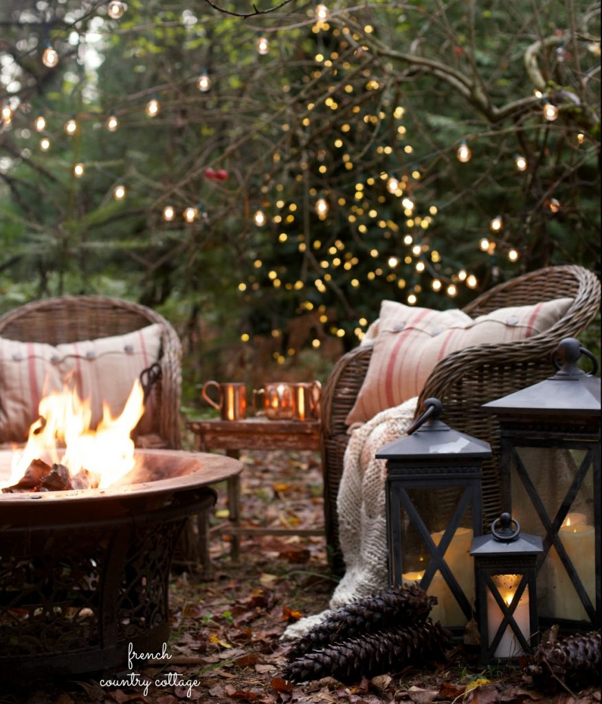Preparing Your Home & Garden For winter - Image From FrenchCountryCottage.net