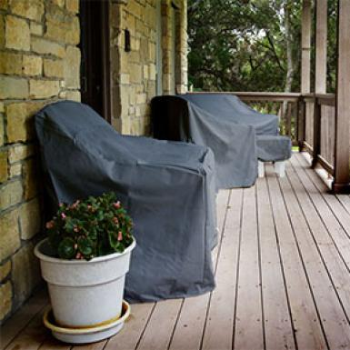 Preparing Your Home & Garden For winter - Furniture Covers