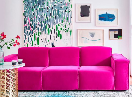 Fuchsia Sofa - 5 Of The Best Home Improvement Tips For 2018 - Image From IdealHome.co.uk - Arlo & Jacob Sofa