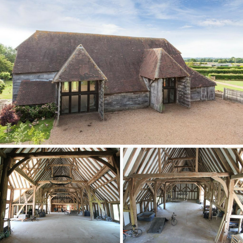 10 Beautiful British Barn Conversions - Image From harpersandhurlingham.com