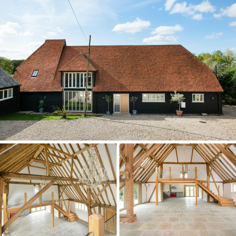 10 Beautiful British Barn Conversions - Image From propertypigeon.co.uk - Honey Hill Blean Canterbury