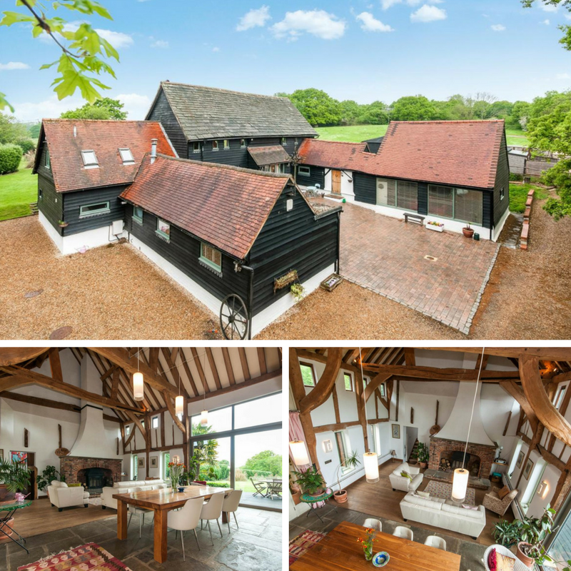 10 Beautiful British Barn Conversions -Image From -whiteandsons.co.uk - Horsham Road, Capel, Dorking
