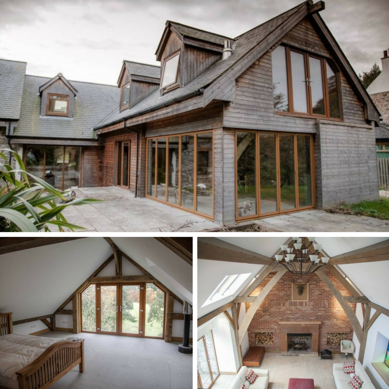 10 Beautiful British Barn Conversions - Images From propertypigeon.co.uk -Blairston Mains Alloway Ayr