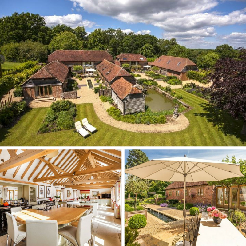 10 Beautiful British Barn Conversions - Images From savills.co.uk - Wisborough Green, Billingshurst, West Sussex,