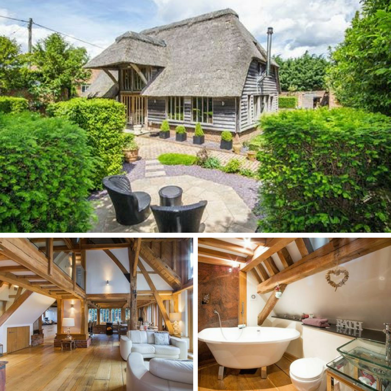 10 Beautiful British Barn Conversions - Image From colebrooksturrock.com - Sandwhich Kent