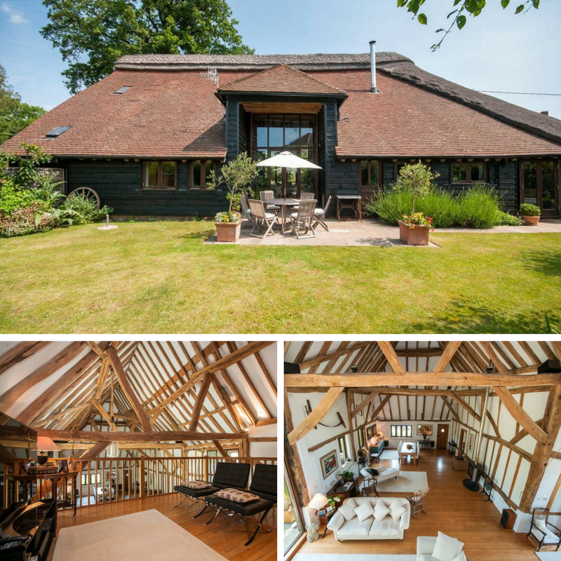 10 Beautiful British Barn Conversions - Image From - jackson-stops.co.uk -