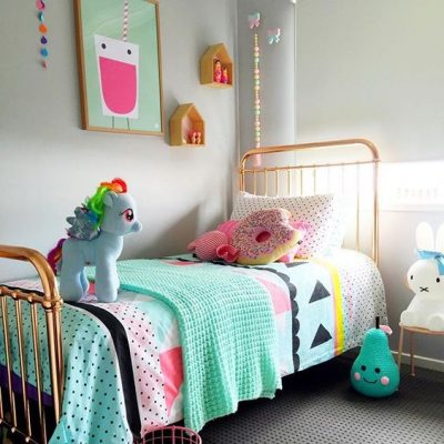 5 Quick Ways To Update Children's Rooms This Weekend - Image From MyHamtonHome Via Instagram