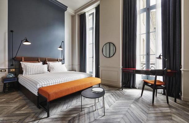 Parquet Flooring: The Comeback Story - Image From The Hoxton Hotel Paris