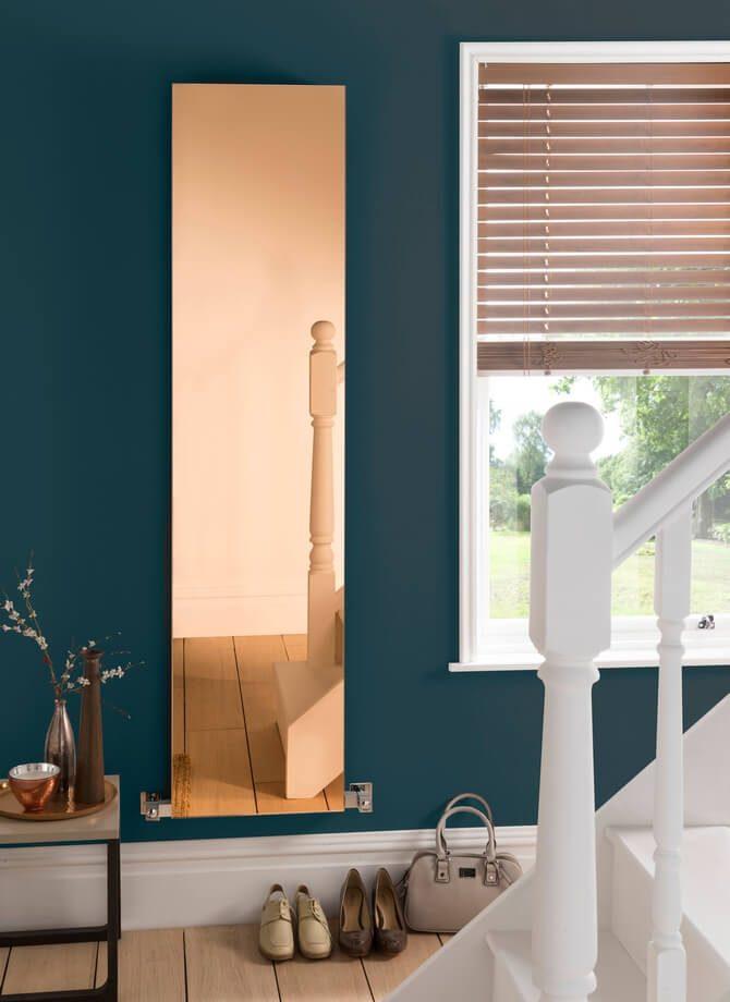 Still Crushing On Copper In 2017 - Copy Mirror radiator by Aestus - DesignerRadiatorShowroom.co.uk