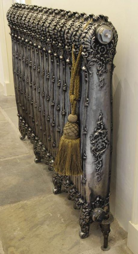 Radiators reimagined! 10 beautiful radiators that'll make you say WOW - ANTOINETTE CAST IRON RADIATOR