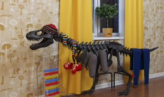 Radiators reimagined! 10 beautiful radiators that'll make you say WOW - Thermosaurus Dinosaur Radiator