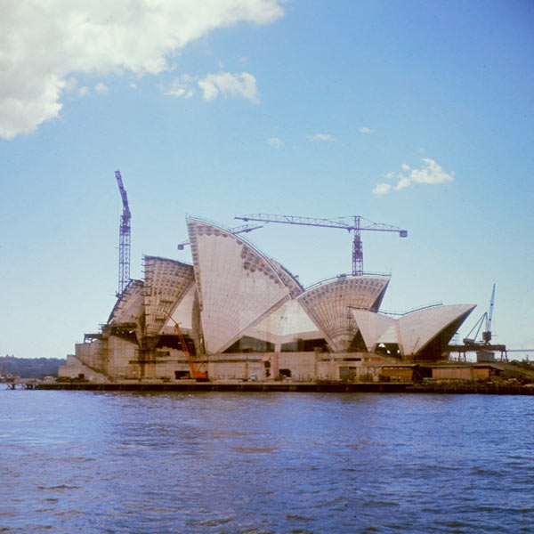 How The Sydney Opera House Was Built
