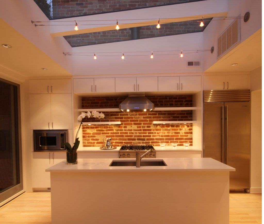 How To Light Your Home - Top Tips - Kitchen - Image By Overmyer Architects