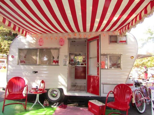 Top Caravan Essentials For Your Summer Getaway - Image From Vintage Camper Trailers