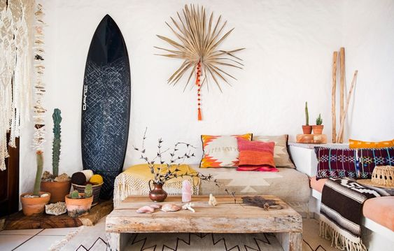 Surf's Up! It's Time To Change The Wavelength Of Your Home - Image From TheDesignFiles.net