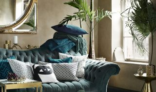 How To Make Your Home Look More Expensive - Sofa Designed By Swedish Designer Evelina Kravaev Söderberg.