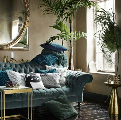 How To Make Your Home Look More Expensive - Sofa Designed By Swedish Designer Evelina Kravaev Söderberg.