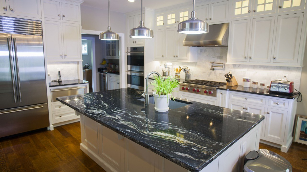 Guide To Purchasing A Countertop - Granite Countertop - Image From marble.com