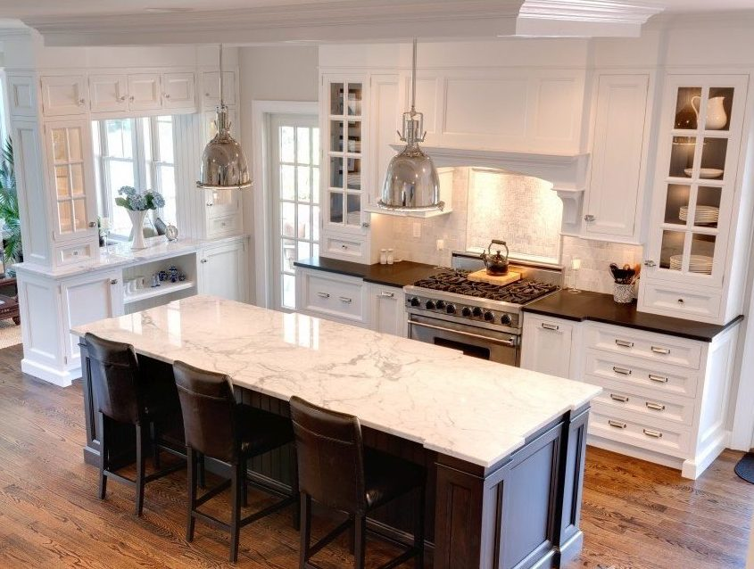 Guide To Purchasing A Countertop - Marble Island Countertop and Granite Countertop - Image From marble.com