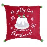 Wilko Christmas Pudding Cushion