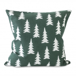 Green Fir Tree Christmas Cushion