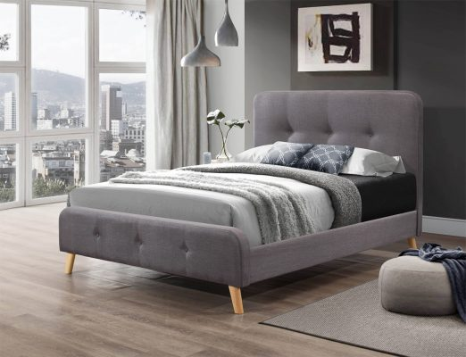 Fab Black Friday Fabric Beds - Flair Furnishings Nordic Fabric Bed Frame - Image From BedKingdom.co.uk